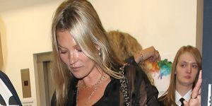 La modelo Kate Moss sufre la muerte de su mejor amiga, la exmodelo Annabelle Neilson