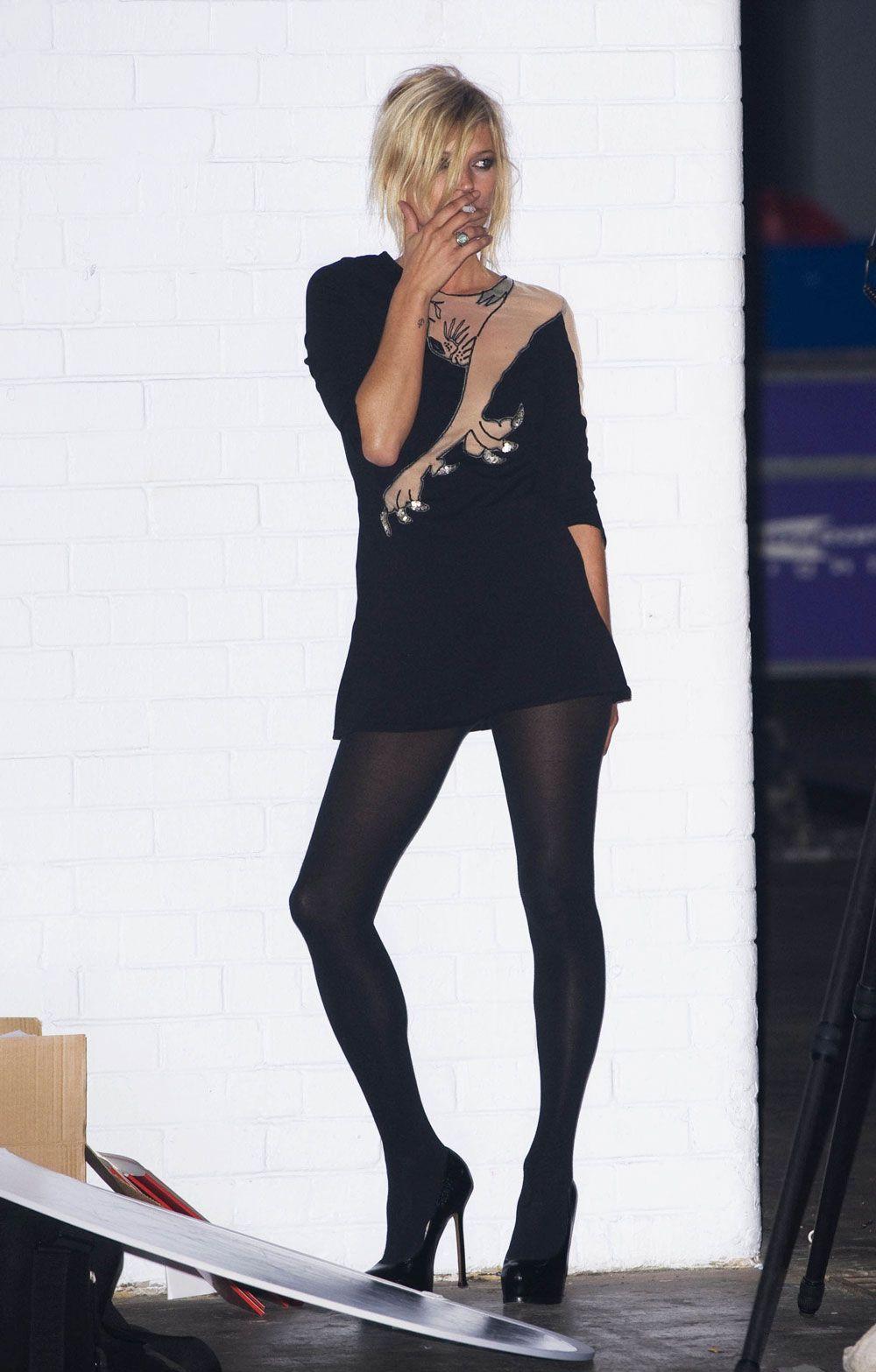 Kate Moss Topshop panther dress