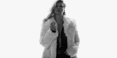 Kate Moss in Saint Laurent Spring/Summer 2018