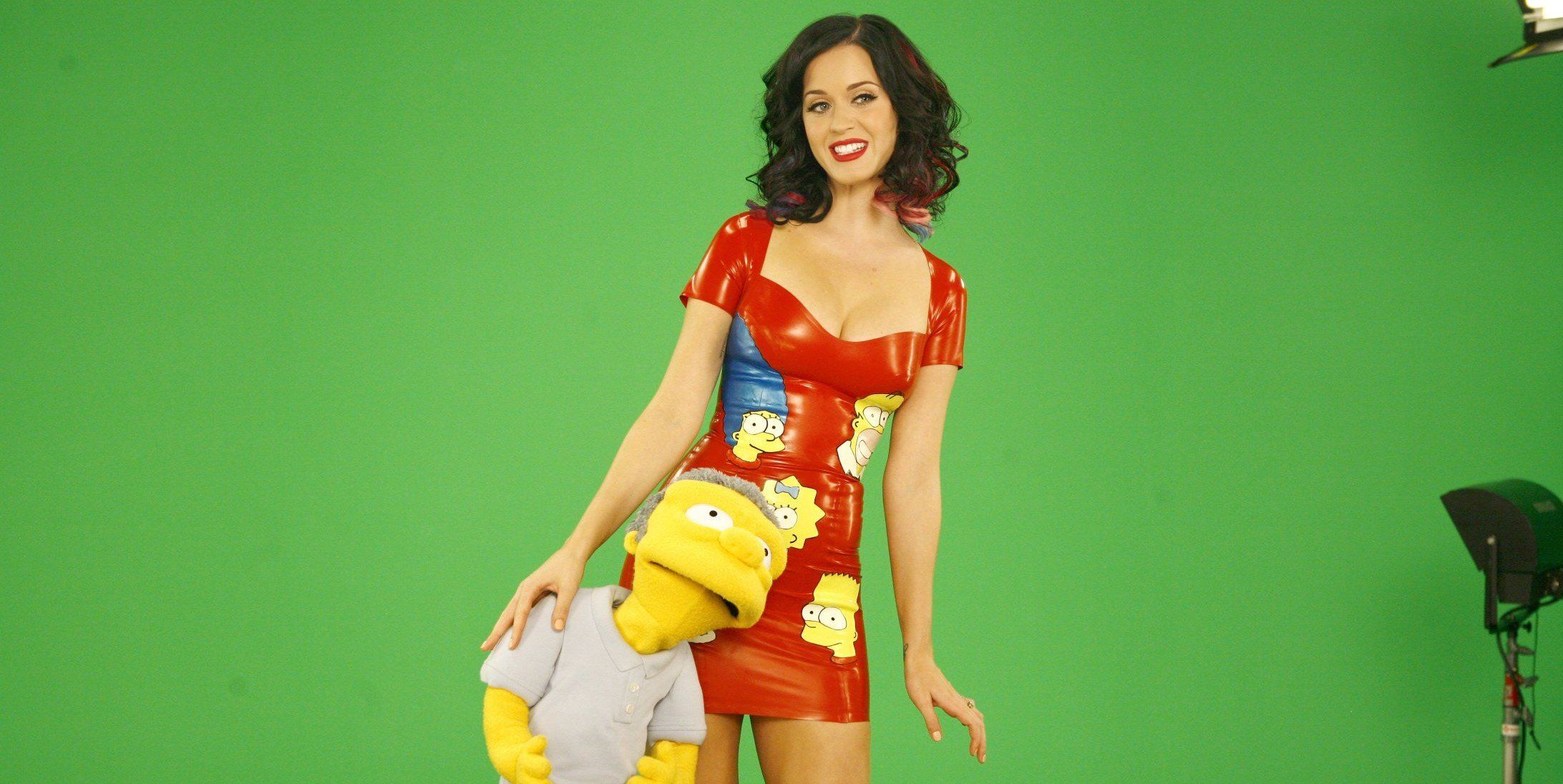 kate perry simpsons
