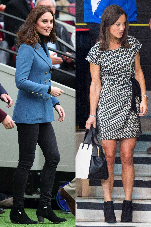 a0da069aea4 Pippa Middleton and Kate Middleton Dressing Alike - Pippa Middleton and Kate  Middleton Matching Outfits