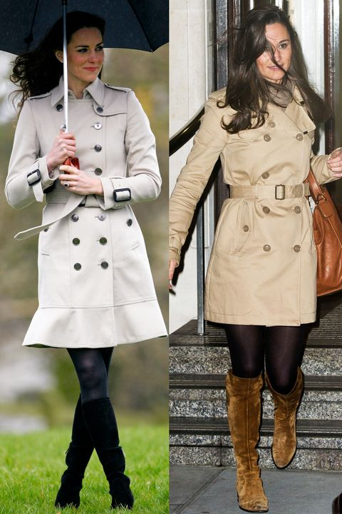 Clothing, Coat, Trench coat, Outerwear, Overcoat, Footwear, Fashion, Knee, Boot, Street fashion,