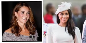Meghan Markle and Kate Middleton Twin in Polka Dots