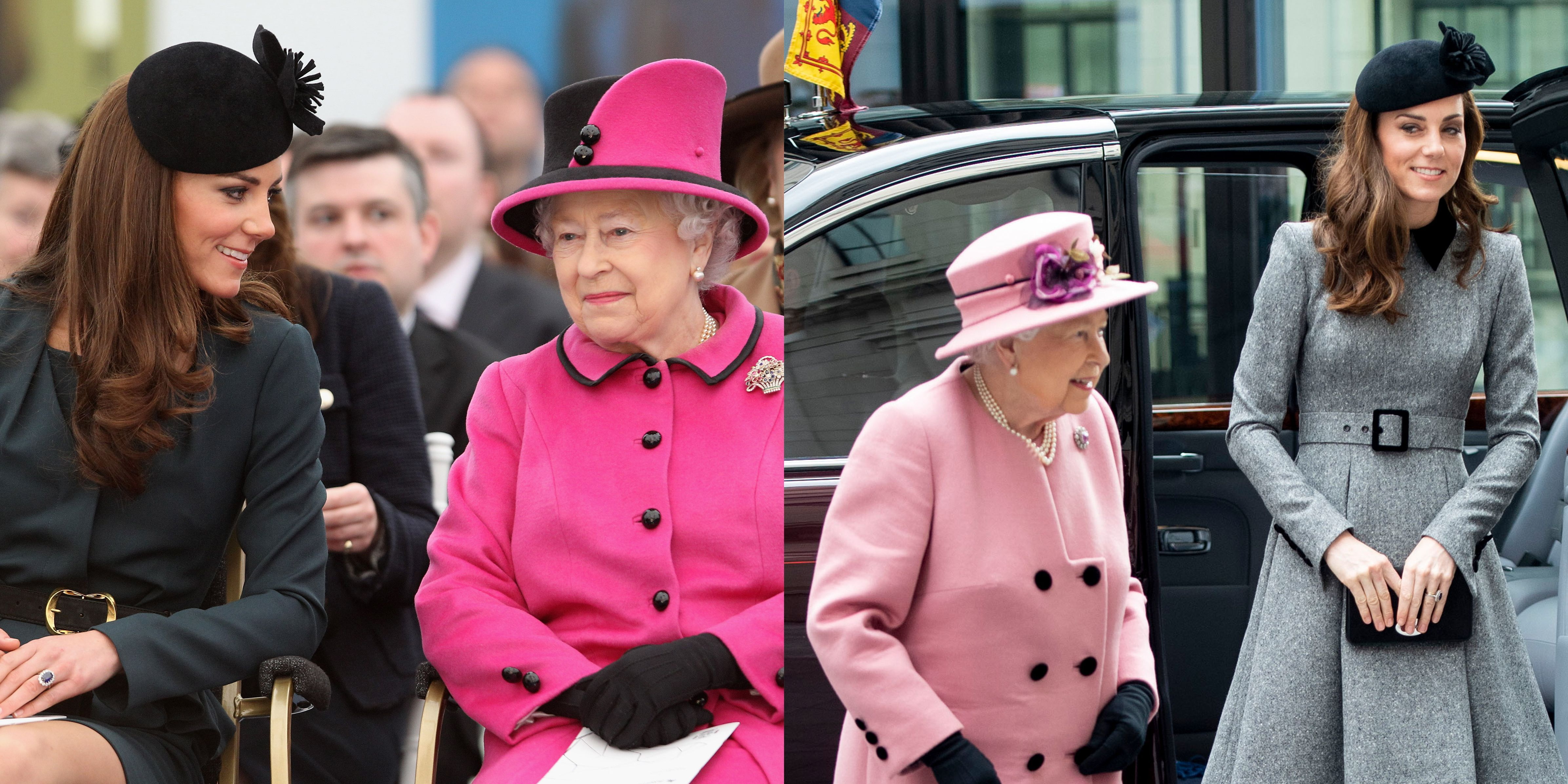 cdc3f7e5 Kate Middleton and Queen Elizabeth's Relationship Timeline