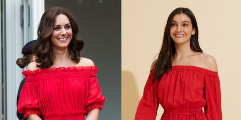kate red dress dupes