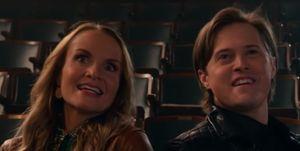 Kate Reinders and Lucas Grabeel, High School Musical The Series