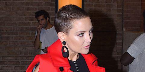 Kate Hudson shaved head