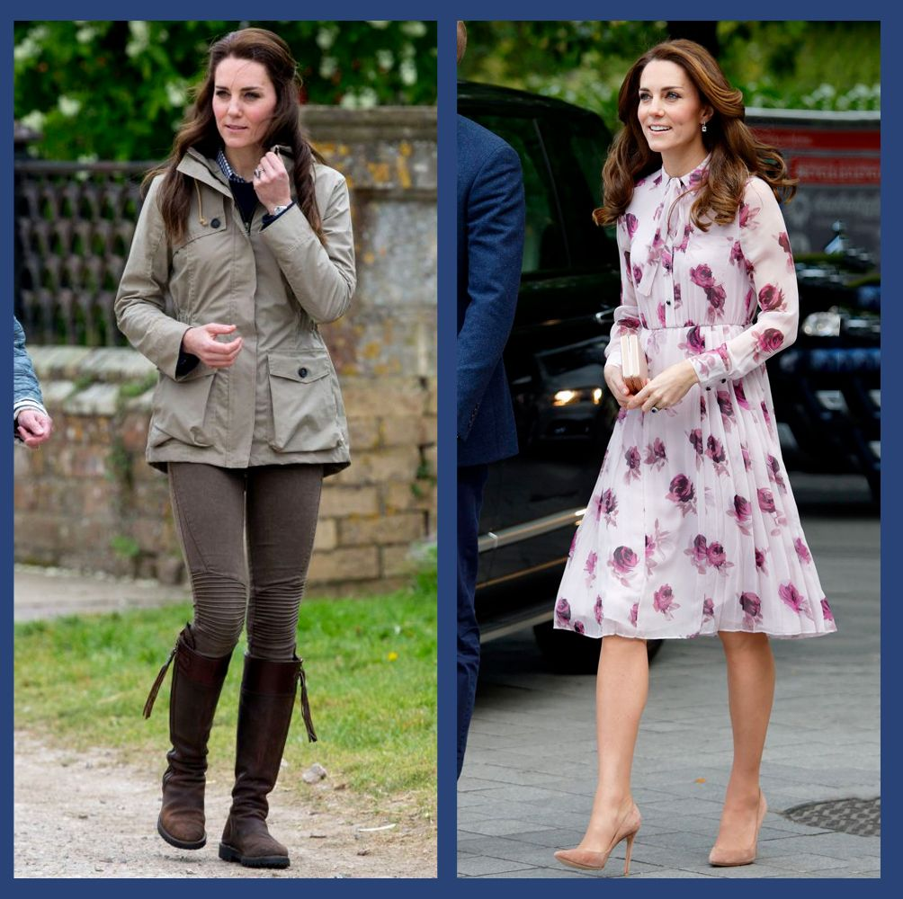 The Duchess of Cambridge has a closet full of designer heels, $65 sneakers, and boots she's owned for more than a decade to choose from each day. Here, her favorites, most of which you can buy online right now.
