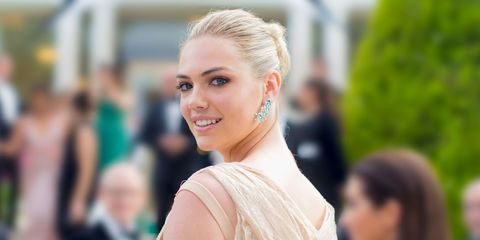0ac342d071f Kate Upton Wore a Naked Dress at Her Wedding