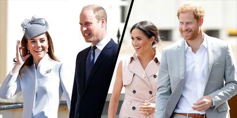 Duke and Duchess of Cambridge congratulate Meghan and Harry