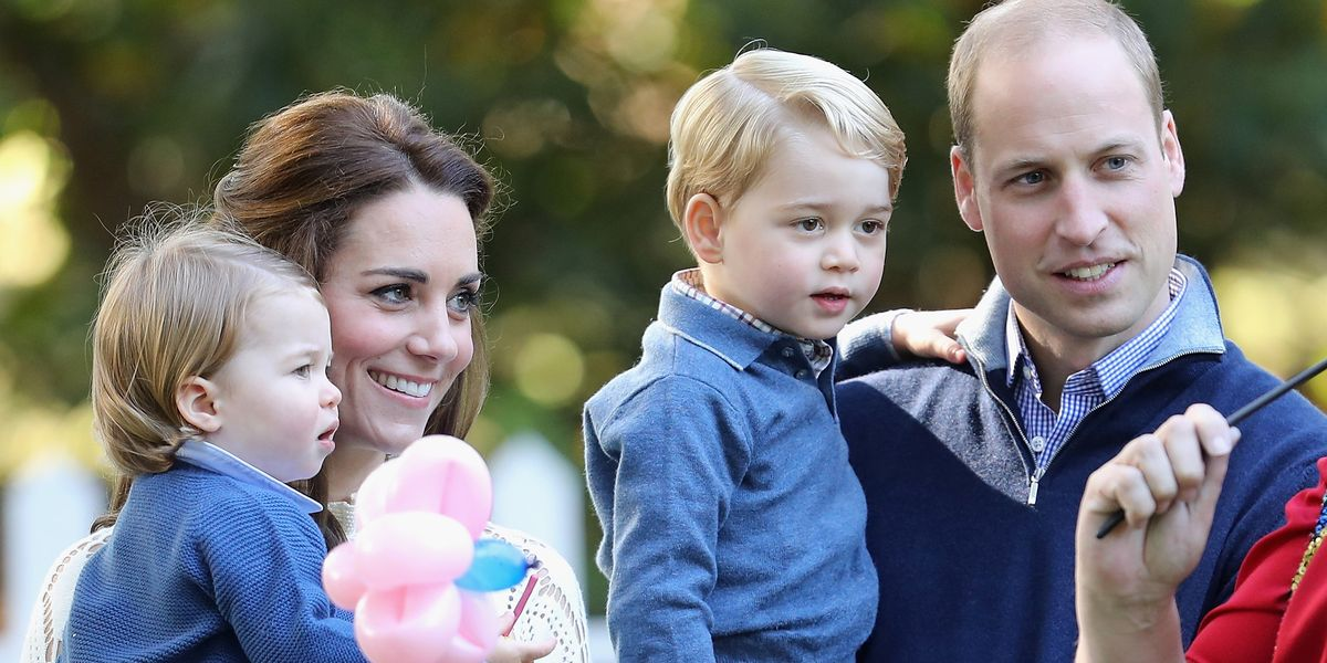 Kate Middleton Prince William Keep Prince George Princess