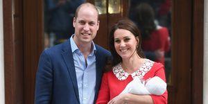 Prince William Kate Prince Louis