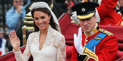 Prince William Wedding.Kate Middleton Prince William Broke Royal Tradition In