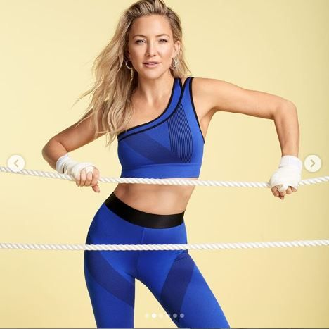 kate hudson,yoga,morning routine