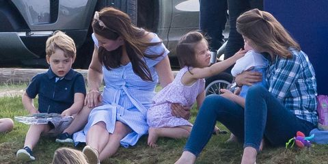 Kate Middleton Prince George And Princess Charlotte Just