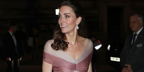 b9c3a5cec2dd Kate Middleton wore a Gucci dress to a gala dinner and looked truly ...