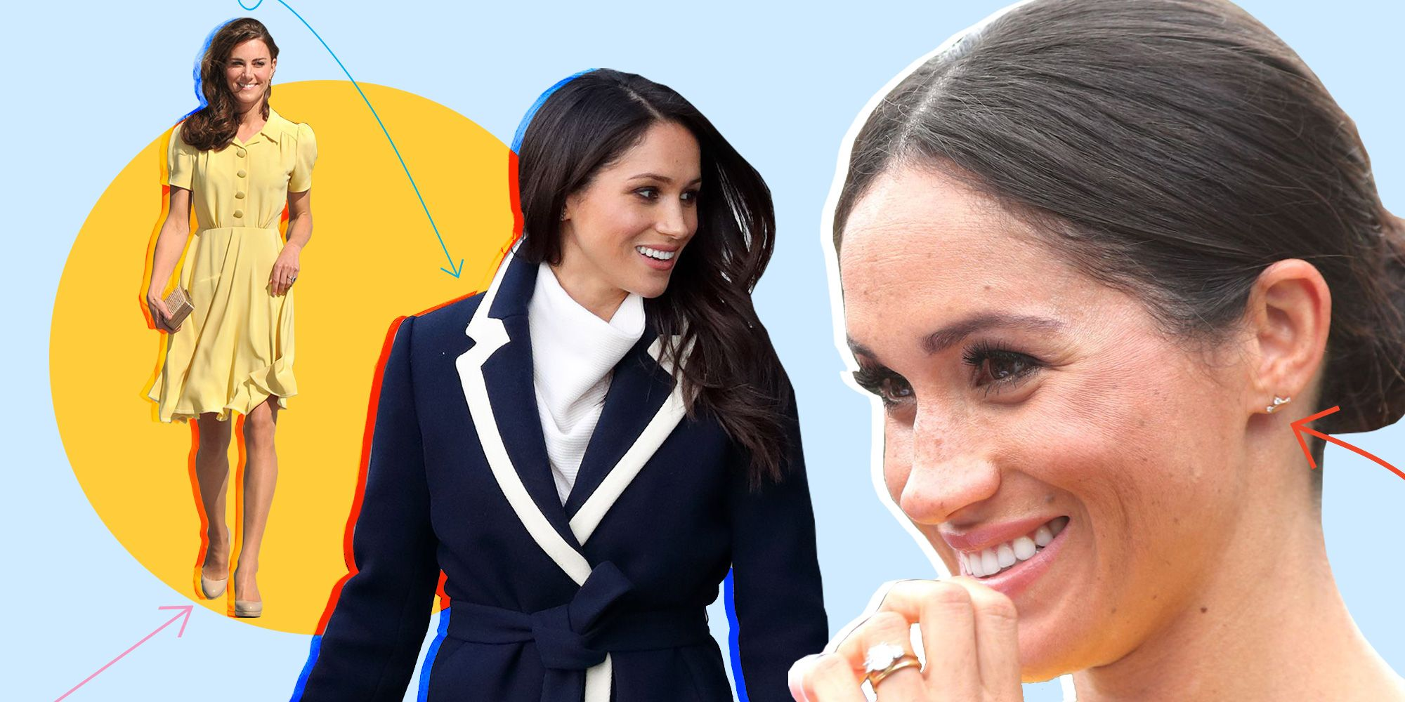 30 Fashion Brands Meghan Markle and Kate Middleton Wear ALL the Time