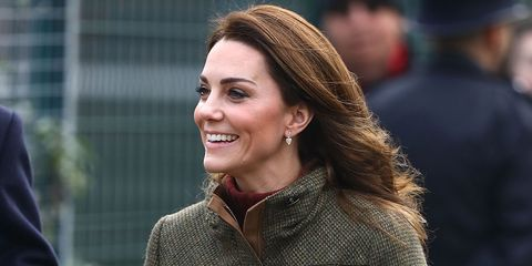 Kate Middleton just tried a totally new fashion look in Chloé combat boots