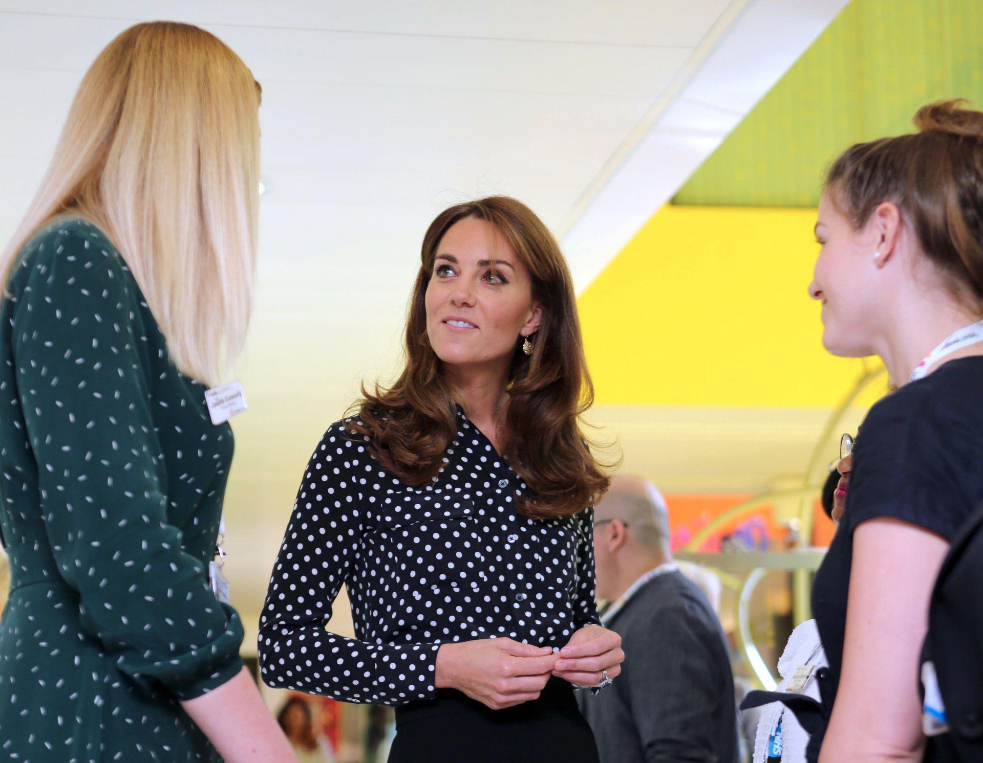 Kate Middleton se apunta a la moda de los pantalones palazzo