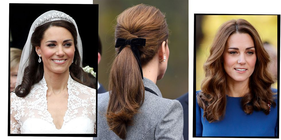 Kate Middleton 039 S Hair Evolution From Catwalk Curls To Half Up