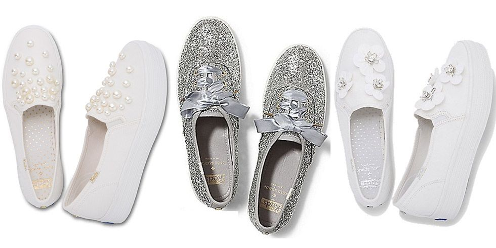 Keds and Kate Spade Wedding Sneakers