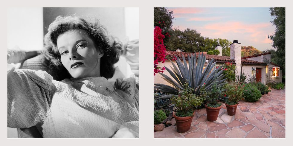 Katharine Hepburn's Former Beverly Hills Home is Listed for $8.9 Million