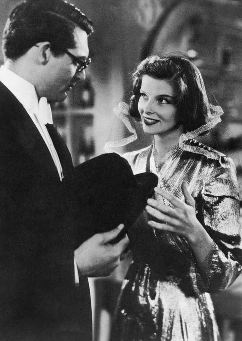 katharine hepburn with cary grant