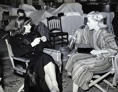 Katharine Hepburn and Ginger Rogers