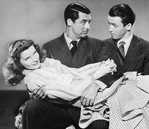 Cary Grant, James Stewart, and Katharine Hepburn Historias de Filadelfia (George Cukor, 1940)