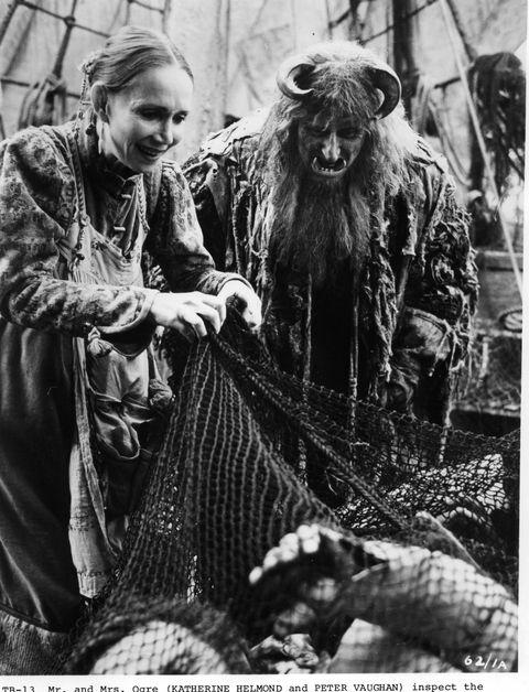 Katherine Helmond;Peter Vaughan In 'Time Bandits'