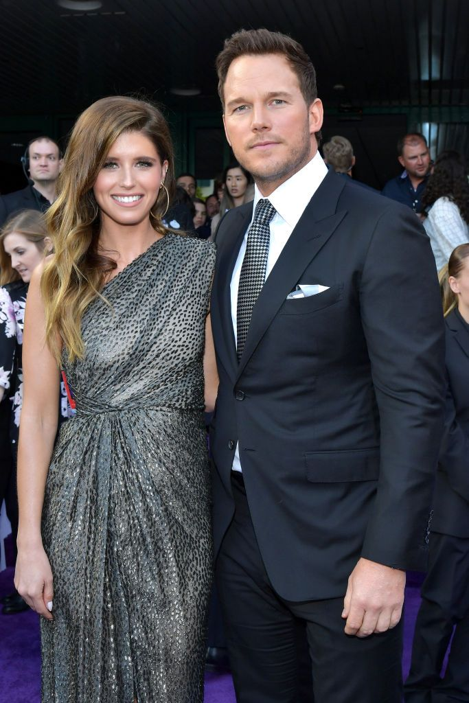 Chris Pratt and Katherine Schwarzenegger Made a Glitzy Red Carpet Debut at the