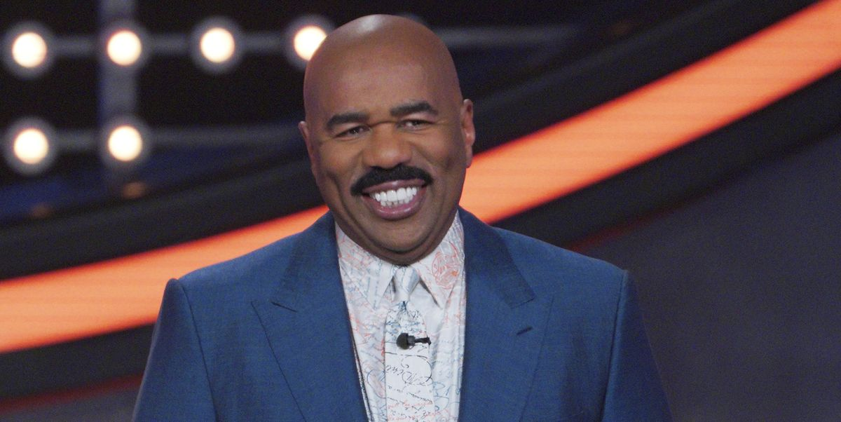 Steve Harvey Talked About Why Men Shouldn't Fight Going Bald
