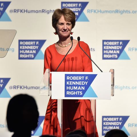 Robert F. Kennedy Human Rights Hosts The 2015 Ripple Of Hope Awards Honoring Congressman John Lewis, Apple CEO Tim Cook, Evercore Co-founder Roger Altman, And UNESCO Ambassador Marianna Vardinoyannis - Inside