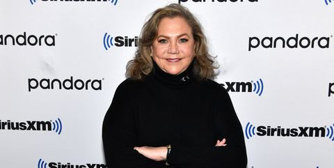 new york, new york   november 12 exclusive coverage actress kathleen turner visits siriusxm studios on november 12, 2019 in new york city photo by slaven vlasicgetty images