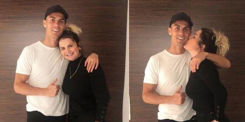 Katia Aveiro y Cristiano Ronaldo instagram