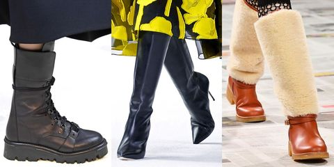 winter 2020 shoe trends