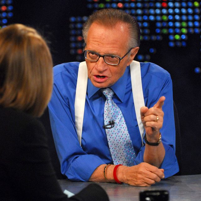 """""""Larry King Live"""" with Guest Katie Couric - May 1, 2007"""