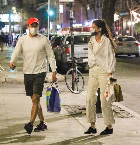 katie holmes and emilio vitolo jr on march 12, 2021, one of their last public sightings