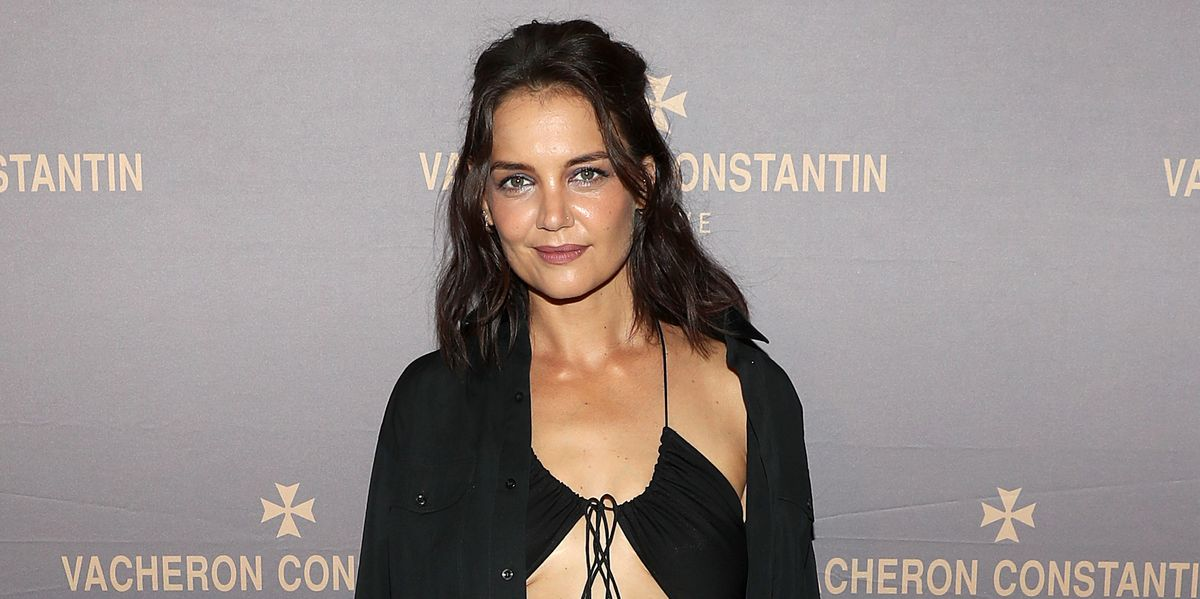 Katie Holmes, 42, Flaunts Her Toned Abs (And Stretch Marks) In A Daring Cut-Out Dress At New York Fashion Week