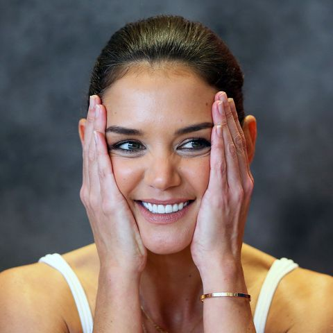Katie Holmes Attends McHappy Day