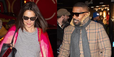 0aa68bda3382 Katie Holmes and Jamie Foxx Celebrated Her 40th Birthday With Dinner Date