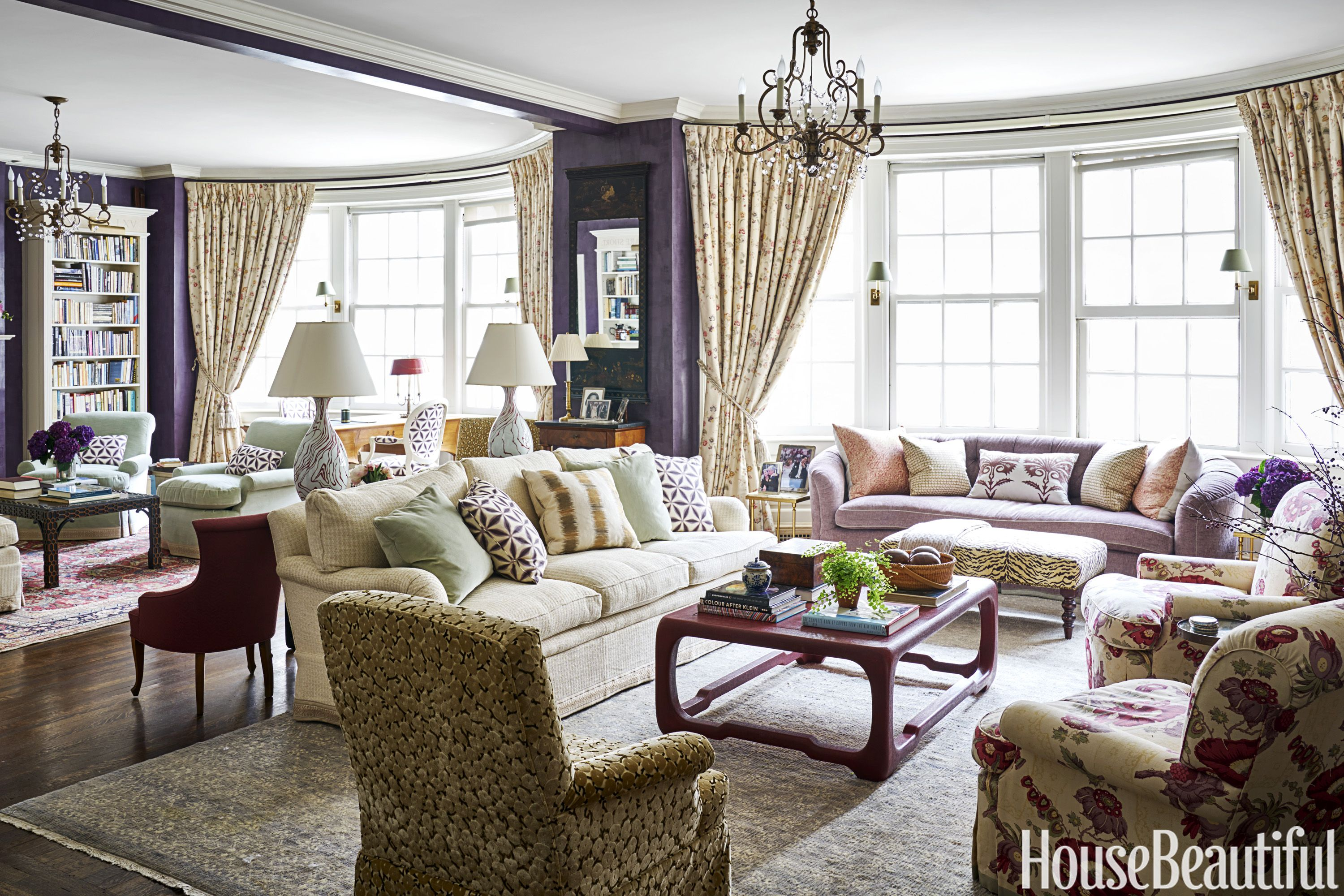 Katie Lydon Living Room. House Tours