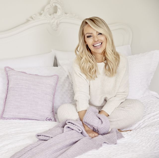 katie piper launches new uplifting bedding range with bedeck