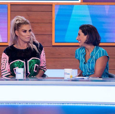 'Loose Women' TV show, London, UK - 25 Jul 2019