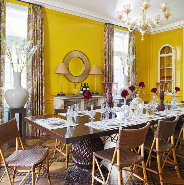 katie ridder yellow dining room veranda
