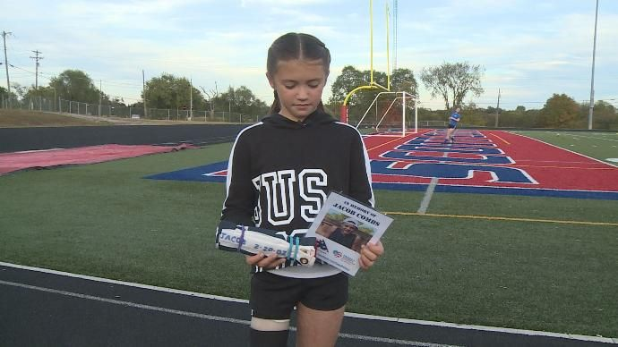 10-Year-Old Amputee Runs 5K in Honor of Boy Killed in Lawnmower Accident