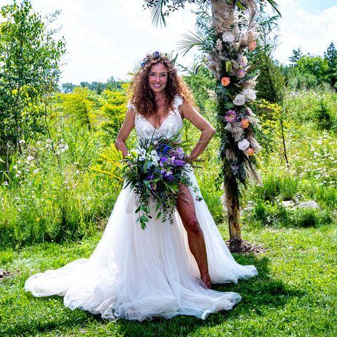 Katja Schuurman Getrouwd In Bohemian Stijl Bekijk De Foto S
