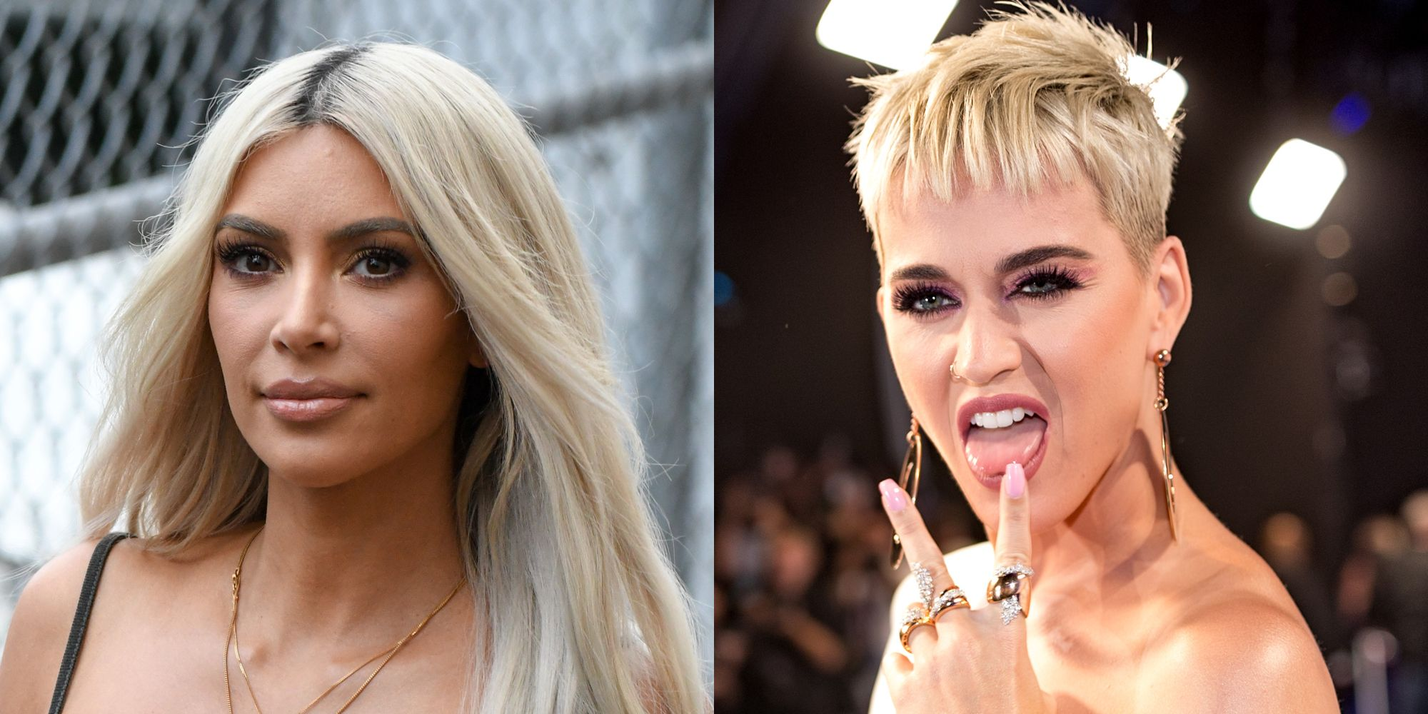 Katy Perry Will Never Let Kim Kardashian Live Down Her '97 Brows