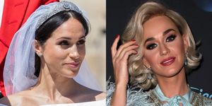 Meghan Markle and Katy Perry