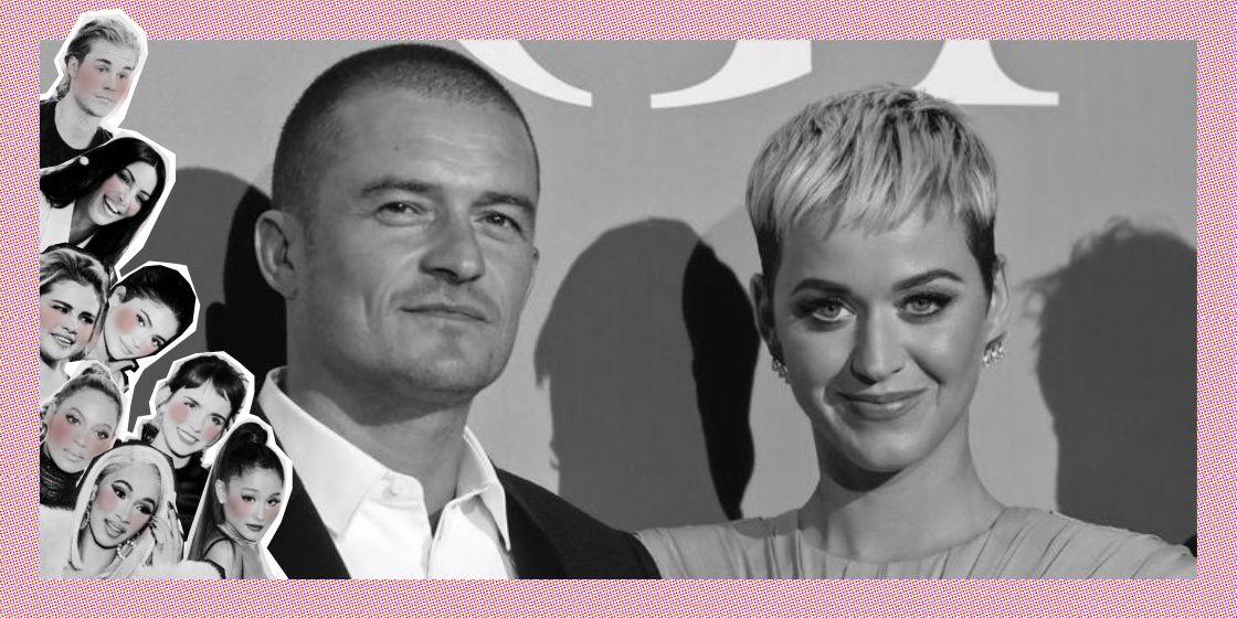 Katy Perry en Orlando Bloom